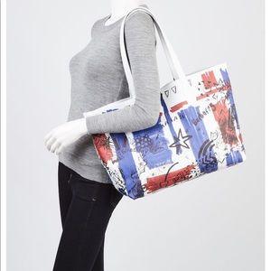 Burberry Bags - Burberry Union Jack Doodle Tote Purse